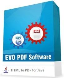 EVO HTML to PDF Converter for Java